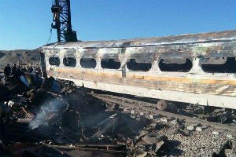 Голова іранських залізниць пішов у відставку після аварії поїздів