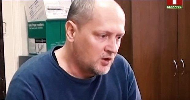 Павел Шаройко во время допроса