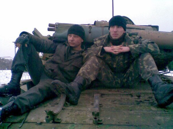 Дмитрий Кащенко и Александр Лавренко (справа)