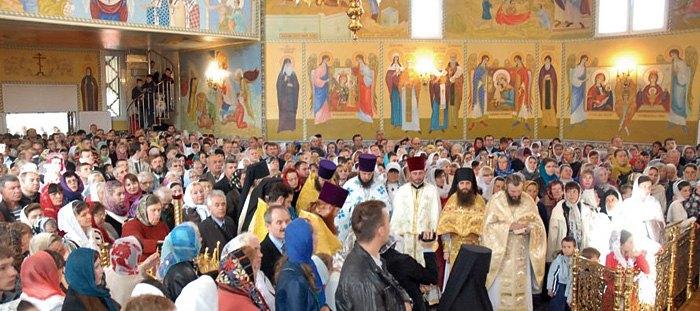 Літургія у Вознесенському храмі м. Львова