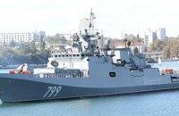 Россия отправила из Севастополя в Сирию два фрегата с крылатыми ракетами