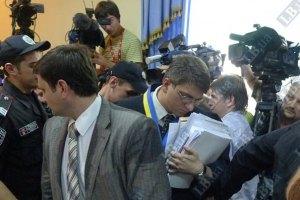 В суде Тимошенко объявлен технический перерыв