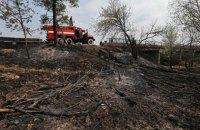 Пожежники гасять у Чорнобильській зоні ще чотири осередки тління торфу