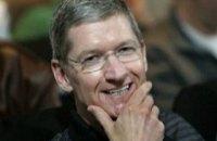 Гендиректор Apple Тим Кук заработал за год $102 млн