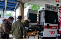 З Харкова літаком евакуювали до Києва трьох поранених і двох хворих військових