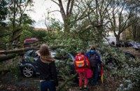 """У Європі 9 людей стали жертвами урагану """"Ніклас"""""""
