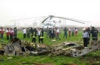 В Ірані розбився медичний вертоліт, є загиблі