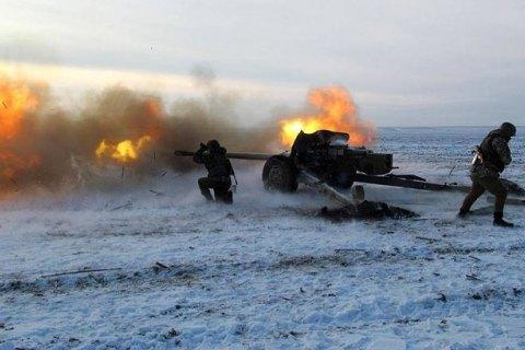 Кількість обстрілів на Донбасі досягла 70