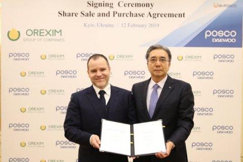 Корейская Posco Daewoo купила зерновой терминал в Николаеве