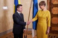 Зеленский и Кальюлайд призвали Россию уйти из Крыма и с Донбасса
