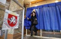 У Криму закрилися виборчі дільниці. Повідомляють про неправдоподібно високу явку
