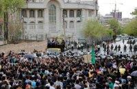 Сотни иранцев протестовали в Тегеране против Саудовской Аравии