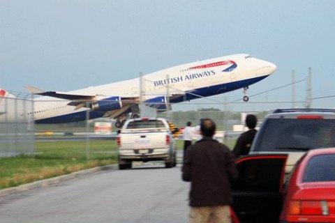 British Airways закрила своє представництво в Росії