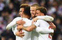 """Англія стала другою учасницею """"Фіналу чотирьох"""" Ліги націй"""