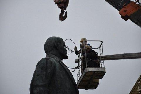 В Днепропетровской области памятник Ленину продали за полмиллиона гривен