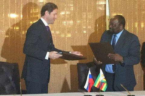Росія та Зімбабве вирішили об'єднатися проти західних санкцій