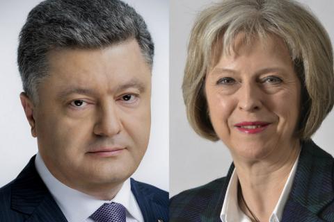 Порошенко обговорив з прем'єром Великобританії посилення санкцій проти Росії