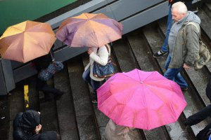 Завтра в Киеве местами небольшой дождь