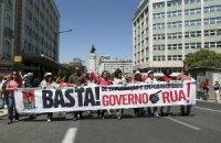 Тысячи португальцев вышли на антиправительственную акцию