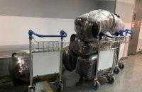 Азербайджанец пытался провезти в Украину 200 кг одежды Prada и Pierre Cardin