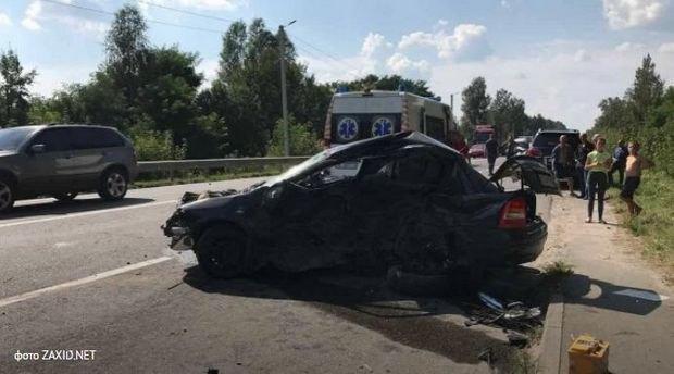 Opel Astra, водитель которого погибла