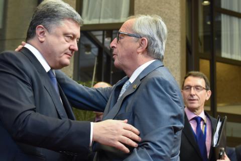 Юнкер заверил в поддержке ЕС Украины на пути европейской интеграции