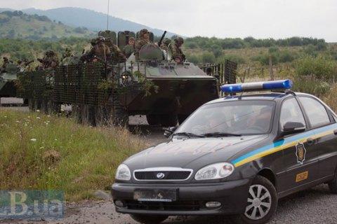 """СБУ затримала під Мукачевим двох бійців """"Правого сектору"""""""
