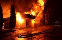 У Рівному пограбували згорілий ресторан