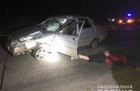 У Краснограді водій збив насмерть пішохода і втік. Його затримали зі стріляниною