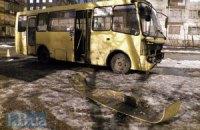 На Дарниці в Києві маршуртка з пасажирами потрапила в ДТП
