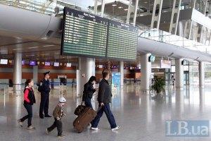 Украинские авиакомпании в 2012 году перевезли 8 млн пассажиров