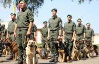 Службові собаки прикордонників уперше стануть учасниками параду до Дня Незалежності
