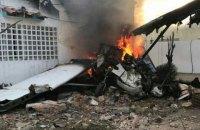 Легкомоторний літак впав на житловий будинок у Венесуелі