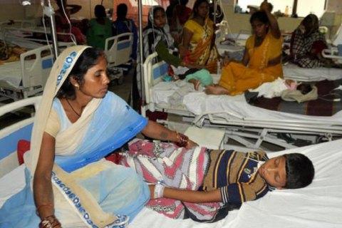 В индийской больнице за  пять дней умерли 60 детей