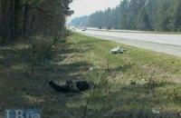 На трасі Київ-Чернігів виявлено труп чоловіка