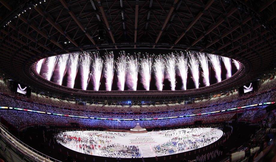 Церемонія відкриття Олімпіади в Токіо