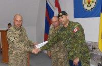 Украинские военные саперы получили квалификацию инструкторов по стандартам НАТО