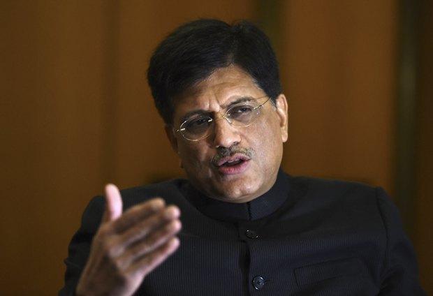 Министр угольной промышленности и энергетики Индии Пиюш Гоял