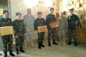США постачили українській армії 330 тис. сухих пайків