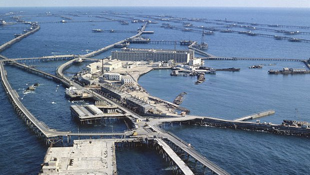 Добыча нефти на Каспии