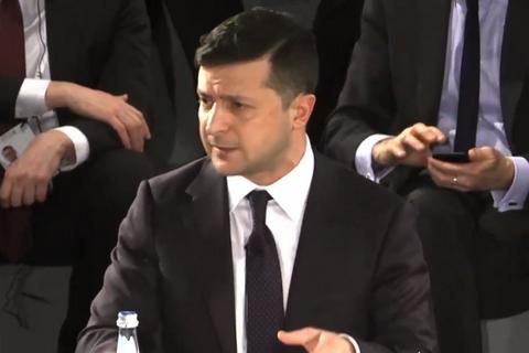 Зеленський: хотілося б провести вибори по всій країні, включаючи ОРДЛО і Крим