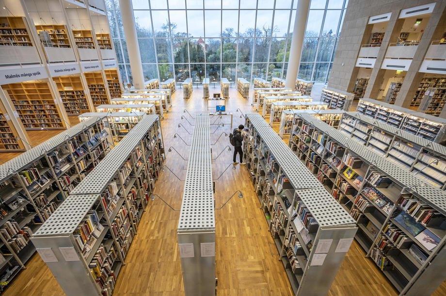 Городская библиотека Мальмё, Швеция, 16 ноября 2020