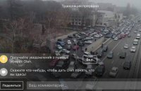 """""""Автомайдан"""" устроил автопробег к дому генпрокурора (обновлено)"""