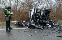 На Львовщине при столкновении легкового автомобиля и буса погибли три человека