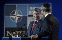 Генеральний секретар НАТО відзначив реформи Порошенка для членства України в альянсі