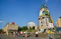 Кличко анонсировал демонтаж елки на Майдане