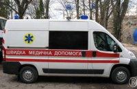 В Киеве мужчина облил врача неизвестным веществом