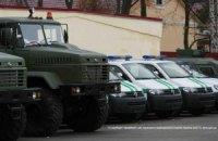 Держприкордонслужба отримала від США 35 броньованих позашляховиків