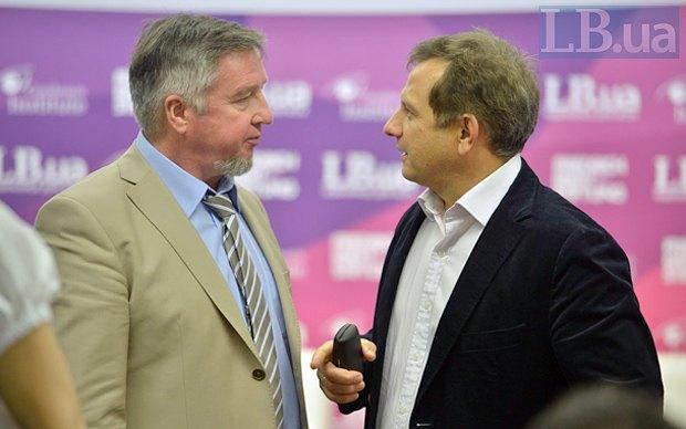 Oleg Ustenko and Vasyl Yurchyshyn