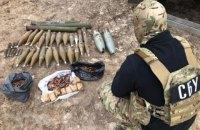 З початку року на сході України виявлено понад 40 схронів бойовиків
